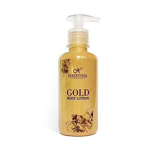 Body Milk ANTI AGE Körpermilch mit Goldpartikeln Vitamin E 200 ml