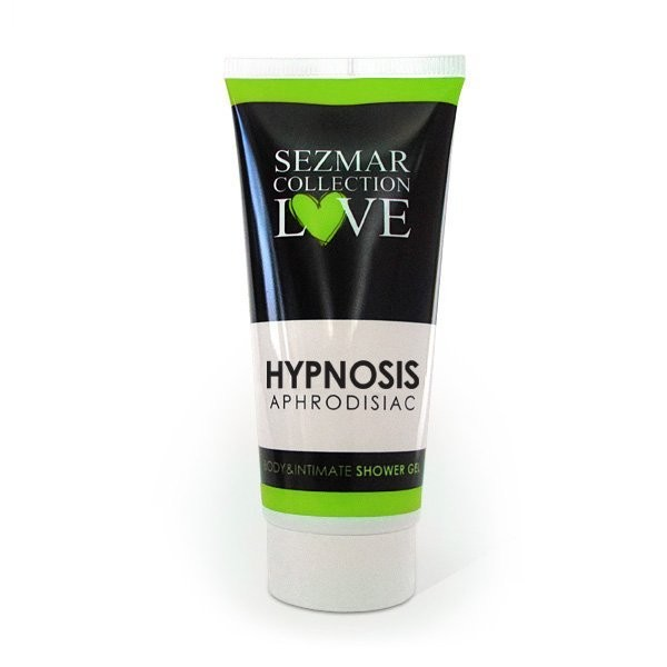 Natural Intimate Shower Gel with Aphrodisiacs hypnosis 200 ml for Her and Him