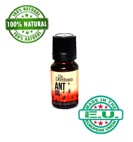 3x Dauerhafte Haarentfernung mit Ameisenöl NATURPRODUKT