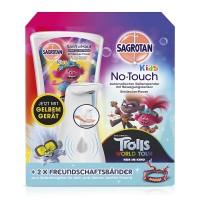 Sagrotan No-Touch Kids Automatischer Seifenspender – Inkl. Nachfüller und Sticker, 1 x 250 ml Flüssi