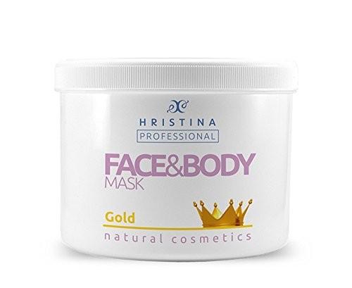 Körper & Gesichtsmaske mit Goldpartikeln und kolloidalem Goldpuder