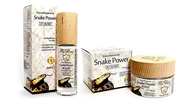 SET crème visage + sérum venin de serpent acide hyaluronique + masque libre NOUVEAU