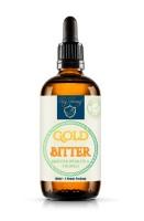 GOLD BITTER Bitterstoffe Wohlfühl Verdauung Tropfen 100ml mit praktischem Pipettenverschluss Bittert