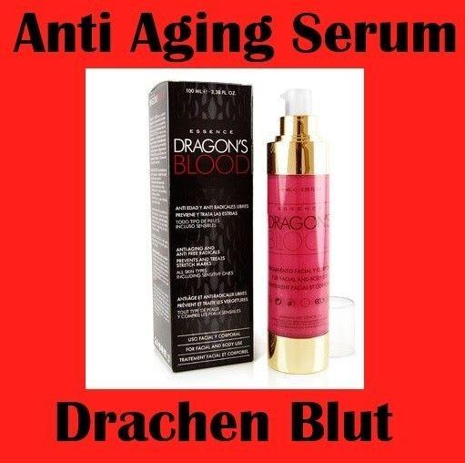 100 ml Luxus Dragon's Blood Drachenblut+ Retinol Serum Anti Aging Hauterneuerung