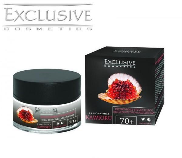 50 ml Luxus Kaviar +70 Creme Q10 +Hyaluronsäure Anti Aging Hauterneuerung Cream