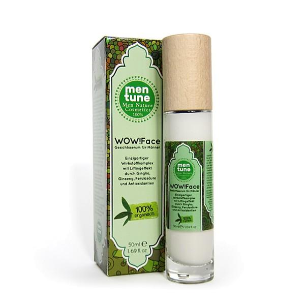 Caligu Men Nature Cosmetics Die Männercreme! Innovative Hautpflege verjüngende Gesichtscreme Optimum for men's skin 100% Natur Inhaltsstoffe 50ml im Glas